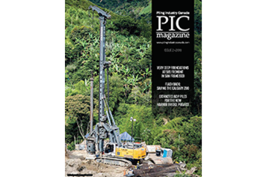 HMC Featured in Piling Industry Canada